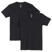 棉V领短袖衫·2件装