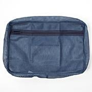 可水洗衣物袋 约26×40×6.5cm / 蓝色