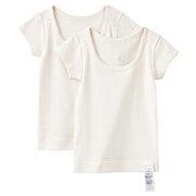 触感亲肤舒适短袖衫·2件装