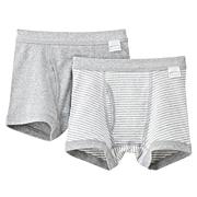 触感亲肤舒适平角裤 2条装