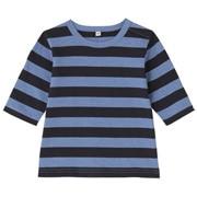 日常儿童条纹七分袖T恤