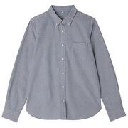 棉水洗牛津纽扣领衬衫