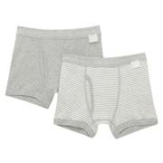 触感亲肤舒适平角裤 2条装(孩童)