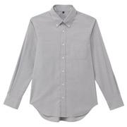 牛津棉定型纽扣领衬衫