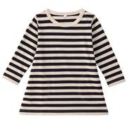 日常儿童 棉条纹长袖束腰长上衣(婴儿)