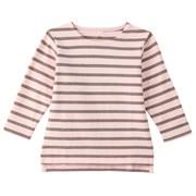 柔软粗棉线长袖T恤(婴儿)