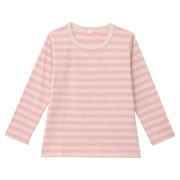 日常儿童 棉条纹长袖T恤(孩童)
