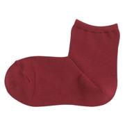 棉混合脚直角 短袜(女士)