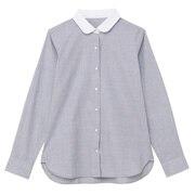 棉平纹圆领衬衫