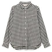 棉法兰绒格子衬衫