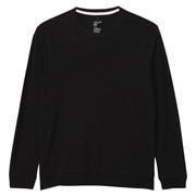 粗细不均棉线长袖T恤