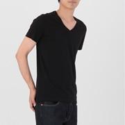 棉V领短袖衫 2件组
