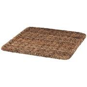 可重叠蕉麻皮制 方形篮用盖 / 约长35×宽35×高2cm