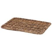可重叠蕉麻皮制 长方形篮用盖 / 约长36×宽26×高2cm