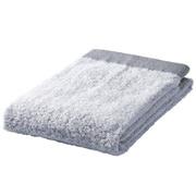 棉纱织起绒柔软 浴巾