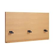 收纳床用床头板 / 加宽双人 / 橡木 / 长168.5×宽6×高81cm