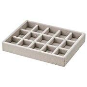 亚克力箱用 丝绒内箱隔板・格子 约宽15.5×长12×高2.5cm