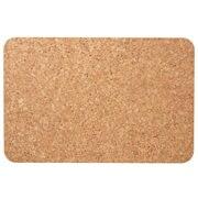 软木茶具垫/2个装  约长25×宽16.5cm