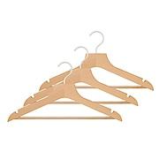 榉木材 薄型衣架・3支装