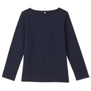 粗棉线长袖T恤