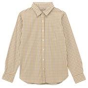 水洗棉双重格子衬衫