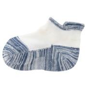 合脚直角弹力带提耳拼接运动船袜(孩童)