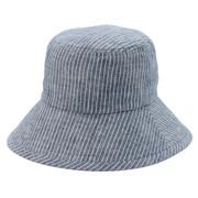 法国亚麻花纹圆帽
