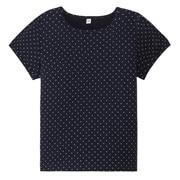 日常儿童服棉水点灯笼袖T恤(孩童)
