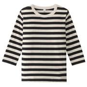 日常儿童服棉条纹长袖T恤(婴儿)