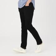 棉牛仔弹力修身裤