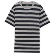棉条纹T恤