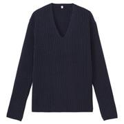 绫纹编织毛衣