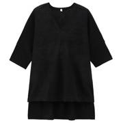 法国亚麻宽版毛衣