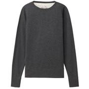 粗细不均棉线毛圈运动衫