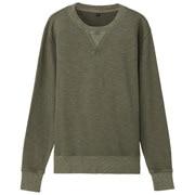 粗细不均棉线毛圈成品印染运动衫