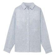条纹宽版衬衫