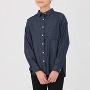 棉牛仔宽版衬衫