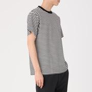棉条纹 短袖T恤
