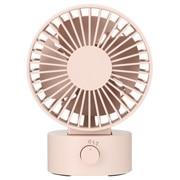 粉红色 USB桌上风扇