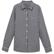 双重格子衬衫