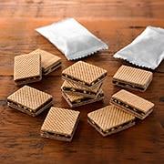 花生巧克力双层夹心威化饼干