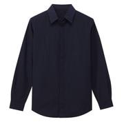 棉平纹 暗扣衬衫