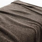绳绒线 织毛毯  S・140×200cm 棕色