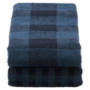 綿格纹 面巾套装