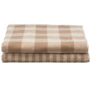 棉格纹 浴巾套装