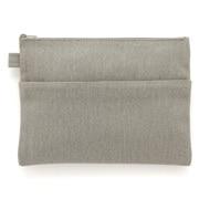 帆布 小物袋/扁型