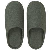 羊毛混 鞋垫拖鞋  M・23.5~25cm用 卡其色