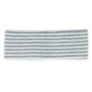 绒毛 束发带/细 蓝色条纹 约22×7.5cm