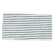 绒毛 束发带・粗 蓝色条纹 约22×12cm