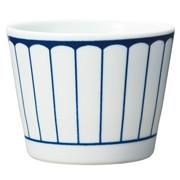 波佐见烧 荞麦面杯  菊花纹/约直径8×高7cm